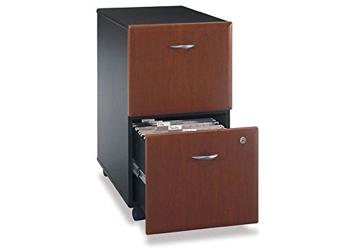 Series A Unassembled Two Drawer Mobile File - 15.75