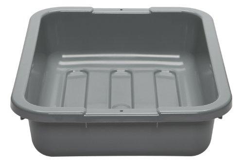 Plastic Gloss Bus Box (Cambro Utility Box 15 Inch x 20 Inch Gray)
