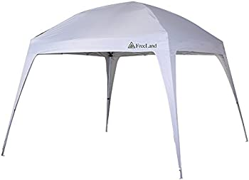 Freeland Pop up 10 x 10 ft Base, 8 x 8 ft Canopy Tent