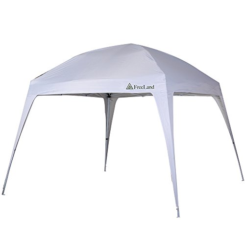 FreeLand-Pop-Up-Canopy-Tent-with-Slant-Legs-  sc 1 st  Discount Tents For Sale & FreeLand Pop-Up Canopy Tent with Slant Legs 10 x 10 ft Base 8 x ...