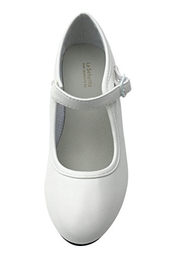 Shoes White Flamenco La Shoes White La Flamenco Senorita La Senorita Senorita Flamenco wqv4EPPz
