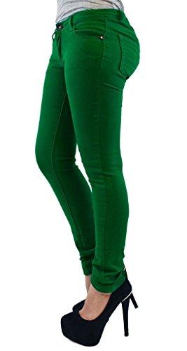 Vanilla Inck - Jeans - Femme noir * Taille unique Vert Jade
