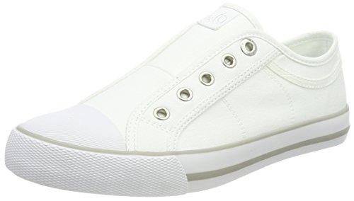 White Femme Baskets Oliver Basses Blanc 24635 s qFgTwwY