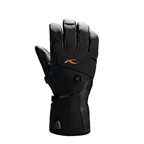 KJUS BT Touch Screen Gloves - XX-Large/Black by Kjus