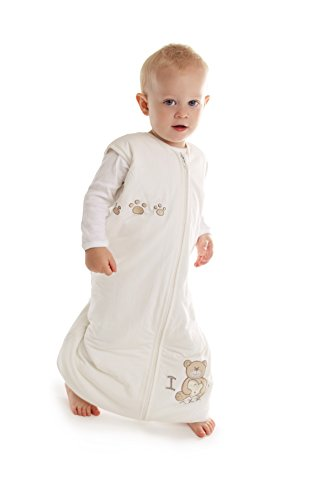 - Slumbersafe Summer Bamboo Sleeping Bag with Feet 1.0 Tog I Love Teddy 24-36 Months