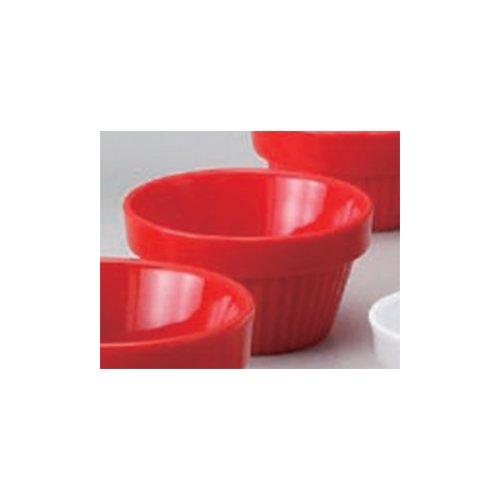 Souffle Plate utw680-41-204 [2.8 x 1.5 inch] Japanece ceramic Red stack souffle 70 tableware