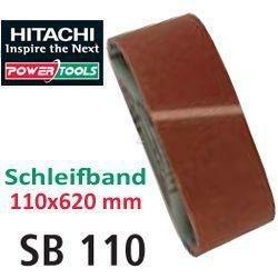 Hitachi –  753285 –  Sandpaper for Belt Sanders, 110 x 620 mm, 120 Grit, (5 units.) 110x 620mm (5units.)