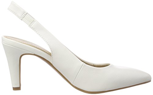 s.Oliver 5-5-29610-30 100, Sandales Bride Arrière Femme Blanc (White 100)