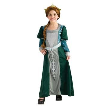 Shrek Child's Deluxe Costume, Princess Fiona Costume