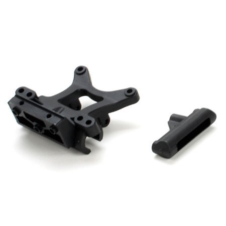 Mini Steering Rack (Fr Shock Tower & Steering Rack: Mini-S by Team Losi by Team Losi)