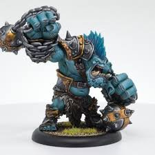 Privateer Press Dire Troll Brawler: Trollblood Heavy Warbeast (Resin) Miniature Game Figure