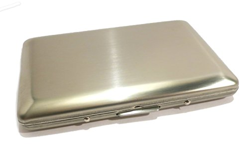 secure-smooth-stainless-steel-rfid-blocking-wallet-and-credit-card-holder-for-men-and-women-preventi