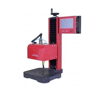 KOHSTAR laser marking machine metal laser marking Tool Engraving Machine Printing Machine on Shell Integrated Dot Peen Marking Machine Marking Area 200mm x 150mm