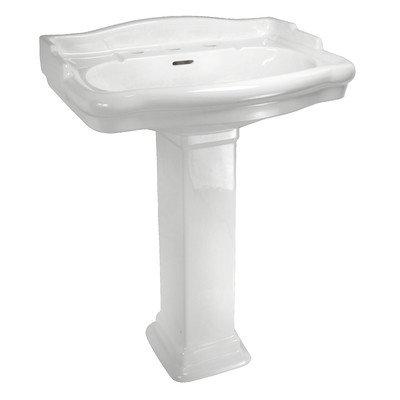 English Turn Pedestal Sink - 8