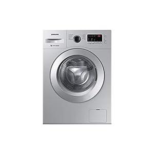 Samsung 6.0 Kg Inverter 5 star Fully-Automatic Front Loading Washing Machine (WW60R20GLSS/TL, Da Silver, Hygiene steam)