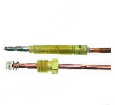 Electrolux 058332 Gas termopar enchufe de 5.0 mm 750 mm de ...