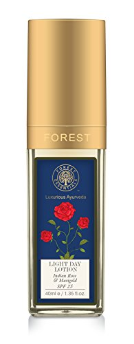 Forest Essentials Light Day Lotion - Indian Rose & Marigold 40ml