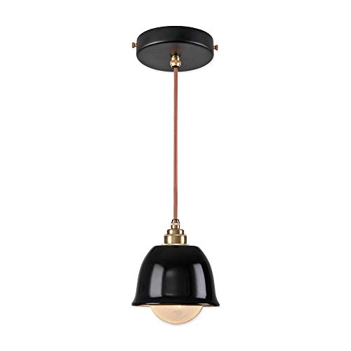 Vintage Industrial Enamel Pendant Lights in US - 1