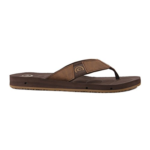 cobian Mens Draino Flat Sandal Chocolate IFS0ye
