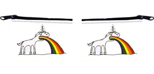 Rikki KnightTM Rainbow Unicorn Design Scuba Foam Coin Purse