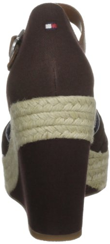 Tommy Toe Closed Brown Women's Hilfiger 3 Selina ARqrAp