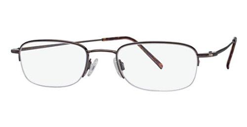 Flexon Flx 807Mgc-Clip Eyeglasses 218 Coffee 218 Demo 51 20 0 ()