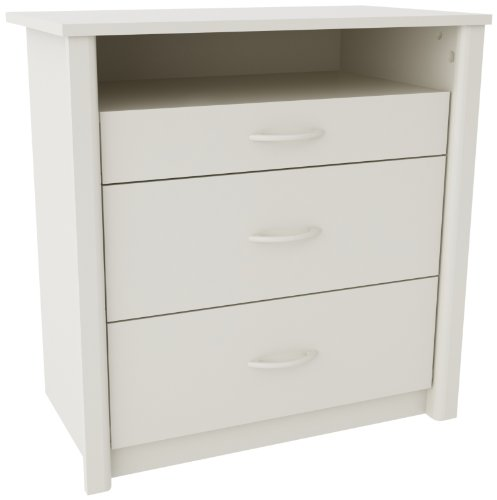 Altra Furniture Ameriwood Home Julian Media Dresser, White by Altra Furniture