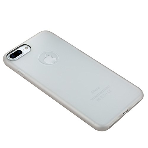 MXNET Iphone 7 Plus Fall, TPU Ultra-dünner Schock-beständiger schützender Fall CASE FÜR IPHONE 7 PLUS ( Color : White )