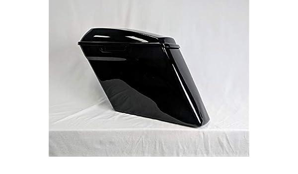 Gloss Black set handbar for newest Saddlebag Latch Hardware Harley Davision14-18