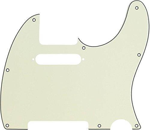 Pickguard Fender Precision (Fender Modern Pickguard, Telecaster, 8-Hole - Mint Green)