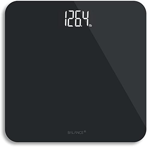 Digital Body Weight Bathroom Scale from GreaterGoods Black