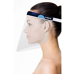 Healthgenie Face Shields (Pack of 10), Safety...