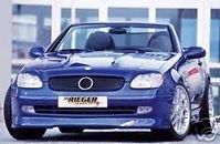Rieger Front Lip - Mercedes Genuine Rieger SLK R170 Front Spoiler Lip NEW