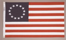 3x5' Betsy Ross Nylon Flag - All Weather, Durable, Outdoor N