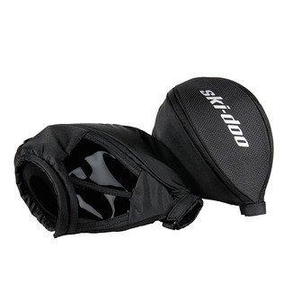 Ski-Doo New OEM Universal Handlebar Wind Protector Hand Muff Warmers, 860201144