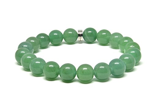 Genuine Green Aventurine Stretch Bracelet
