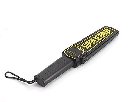 Detector de metales para seguridad con audio y alerta por vibración: Amazon.es: Electrónica