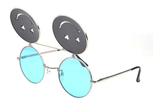 soleil Bleu Lunettes Lunettes anti de Polaroid ultraviolet JYR Ronde soleil Femmes de mode de HD soleil Lunettes nqXtatB