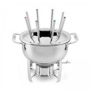 All-Clad Gourmet Accessories Fondue Pot with Cast-Aluminum Insert by All-Clad
