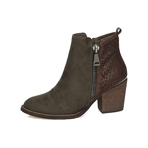 XTI Stiefel Kurzschaft 48249 Braun Damen q1wf1pC