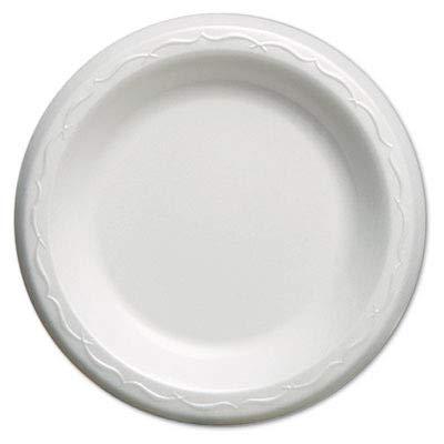 - Genpak LAM063L Elite Laminated Foam Dinnerware, Plate, 6