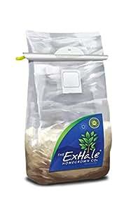 Homegrown Exhale CO2bolsa interior jardinería Roots & bolsas de follaje marrón