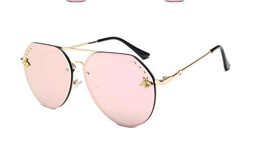 Silverware Blanco Gafas de Chennnnnn Señora de Las Gafas Sol la de Sol cortan Las Mercurio HqOZSO6