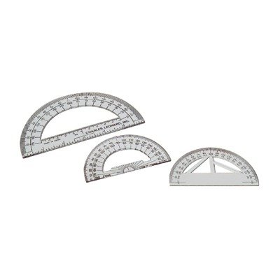 SCBCHL77104-158 - 4 INCH PROTRACTOR PLASTIC pack of 158 by Shoplet Best (Image #1)