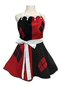 ICUP Womens Harley Quinn Fashion Apron Standard, Multicolor, Standard]()