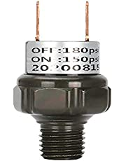FANHAY 150-180PSI-1/4'' NPT Air Pressure Control Switch Off Valve Pressure Switch Universal for Air Horns,Train Horns, Pump Compressor (150-180PSI-1/4'')