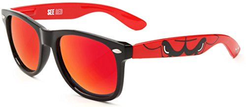 NBA Licensed Sunglasses in Team Colors (Chicago - Sunglasses Chicago In