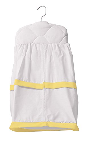 Baby Doll Medallion Crib Diaper Stacker, Yellow