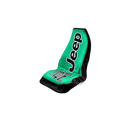 Seat Armour Universal Fit Jeep Towel-2-Go Seat Protector- Green: Automotive