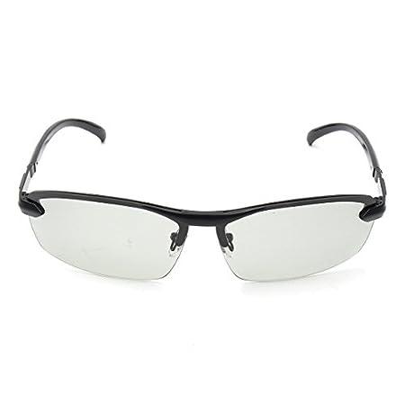 44b0016d07b Alamor UV400 Polarized Photochromic Sunglasses Men s Driving Transition Lens  Grey Black - Grey  Amazon.co.uk  Kitchen   Home